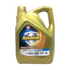 Havoline® ProDS Fully Synthetic SAE 5W-40, 4L