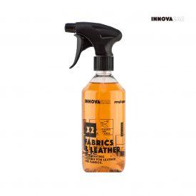 INNOVACAR X2 FABRICS & LEATHER皮革& 纖維清潔劑, 500ml