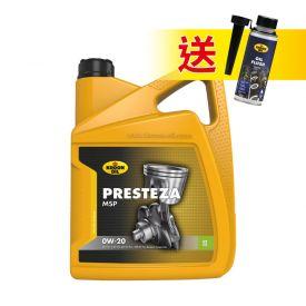 KROON-OIL PRESTEZA MSP 0W-20 節能型低耗全合成機油, 5L